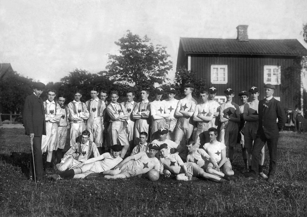 Göta o IFK Karlstad i Krhmn 1906