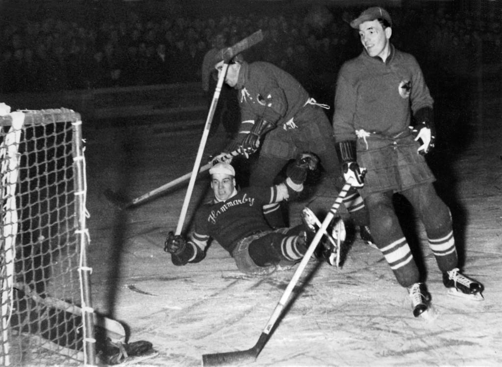 Ishockey allsvensk match m Hammarby