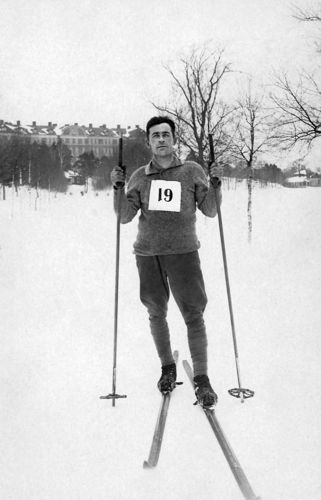 Skidor Carl Emmanuel Berg