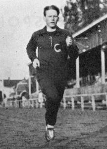Stig Håkansson joggar