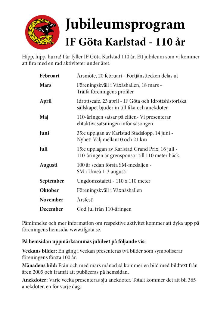 jubileumsprogram