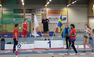 Linus Brunzell guld 200m