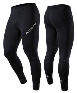 Koio Long Running Tights 15 unisex black